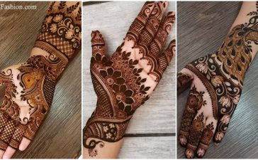 Checkout arabic mehndi designs for full hand suitable for engagement, wedding and festivals. Mehndi designs in front hand, back hand and finger done for wedding, eid, engagement and festivals. Check with designer for attractive arabic mehndi designs in functions to looks beautiful and gorgeous.