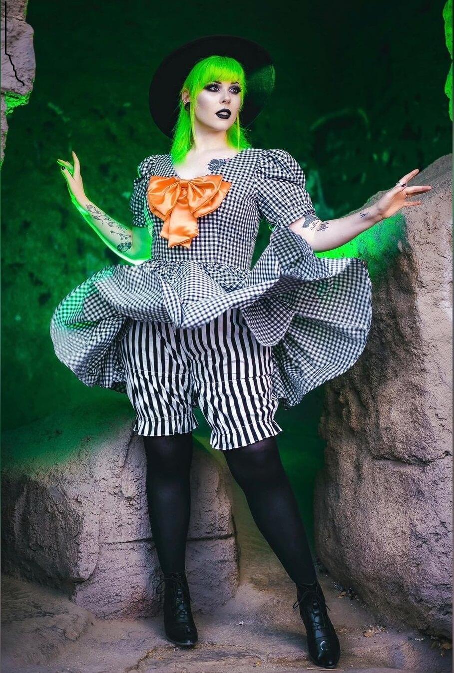 Halloween Costumes for Women Haunted Tea Party Themed Halloween Costume