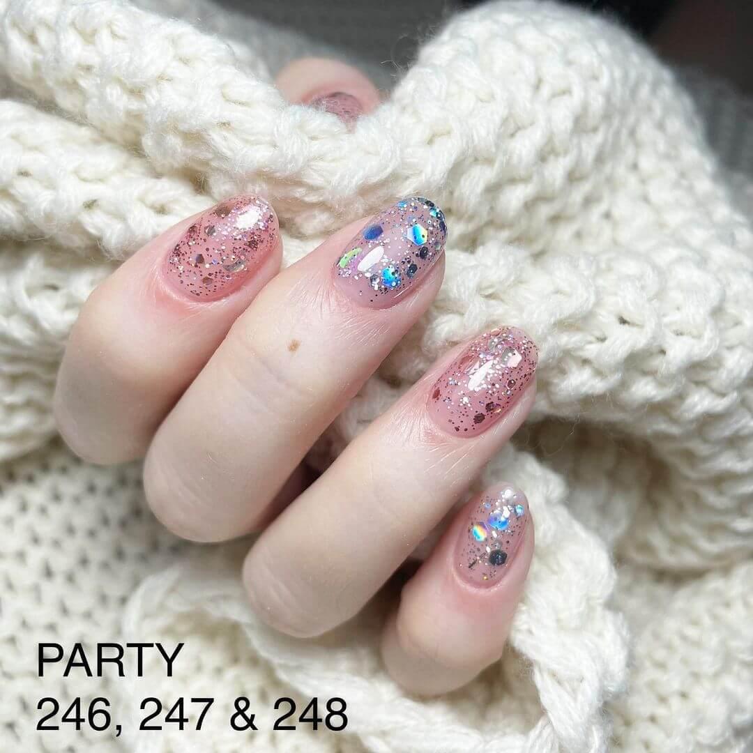 Gel Nail Art Be Glitter And Not Bitter