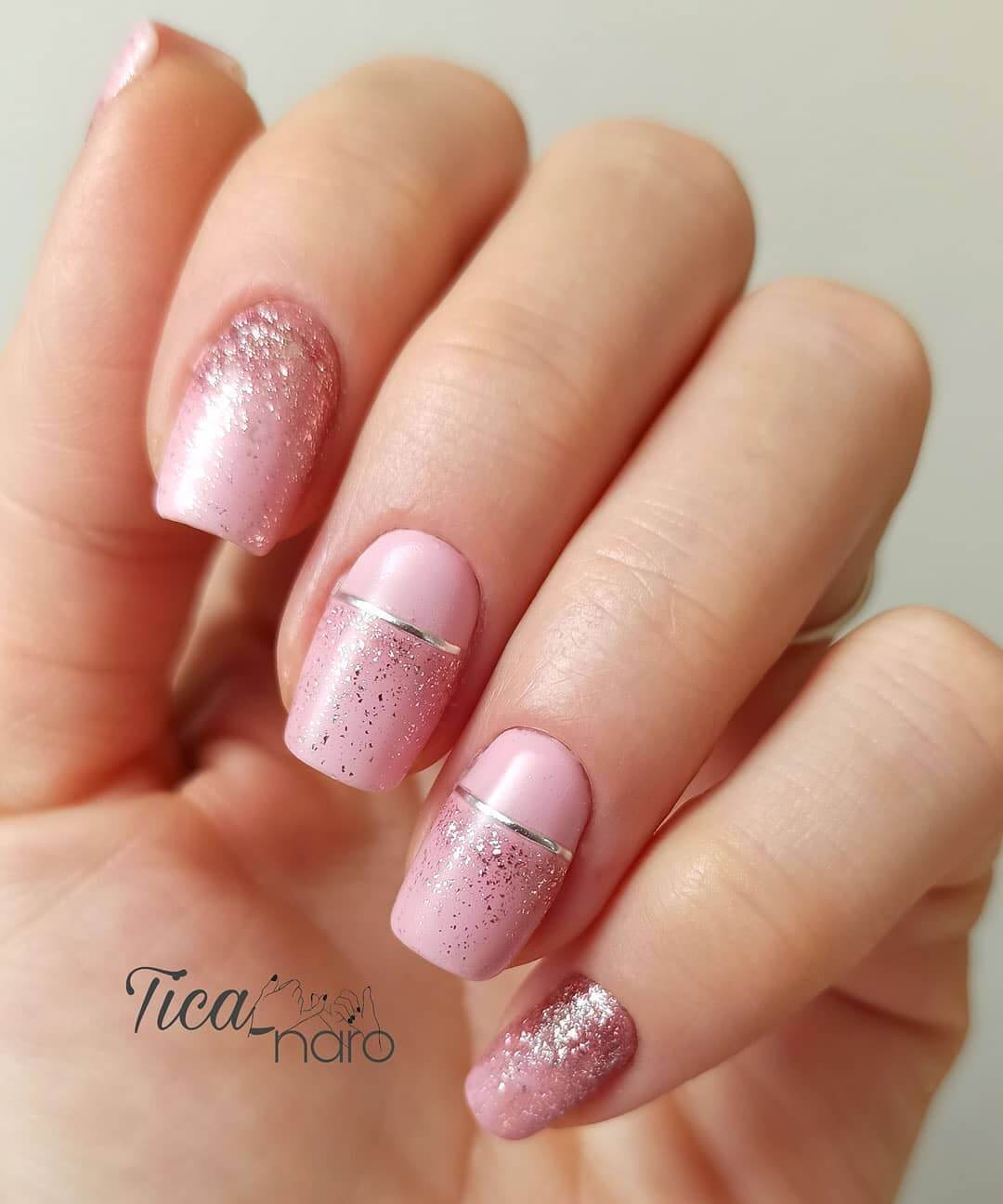 Glittery Pink is all you need!