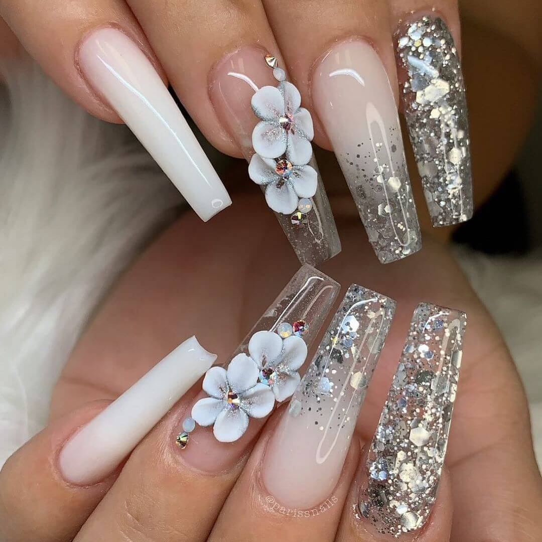 Stunning nail art to rob your heart