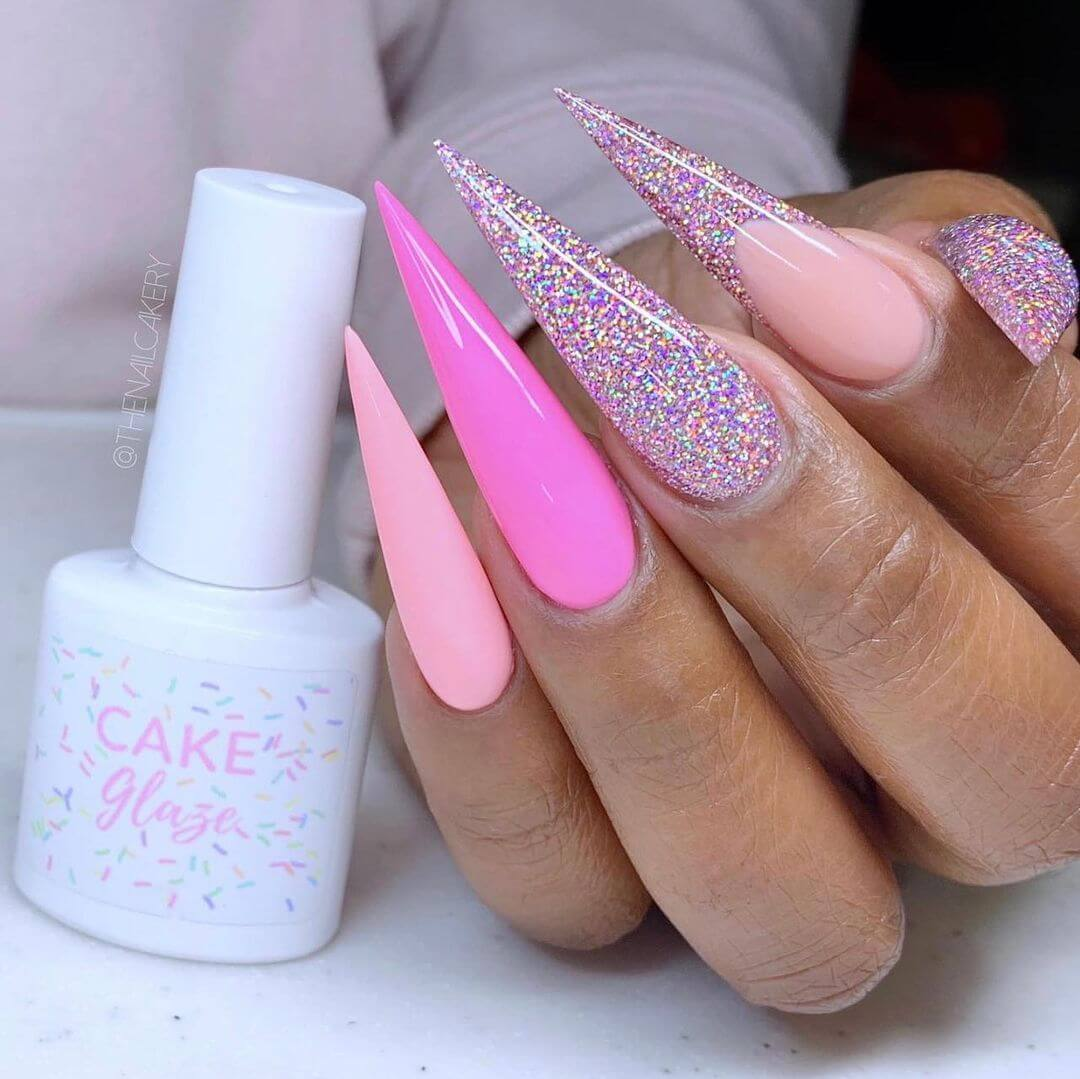 The wannabe nail art