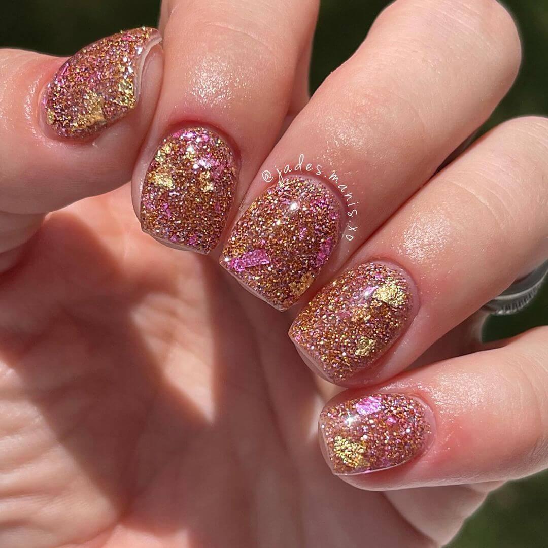 Glitter Nail Art Designs Dazzling beauty