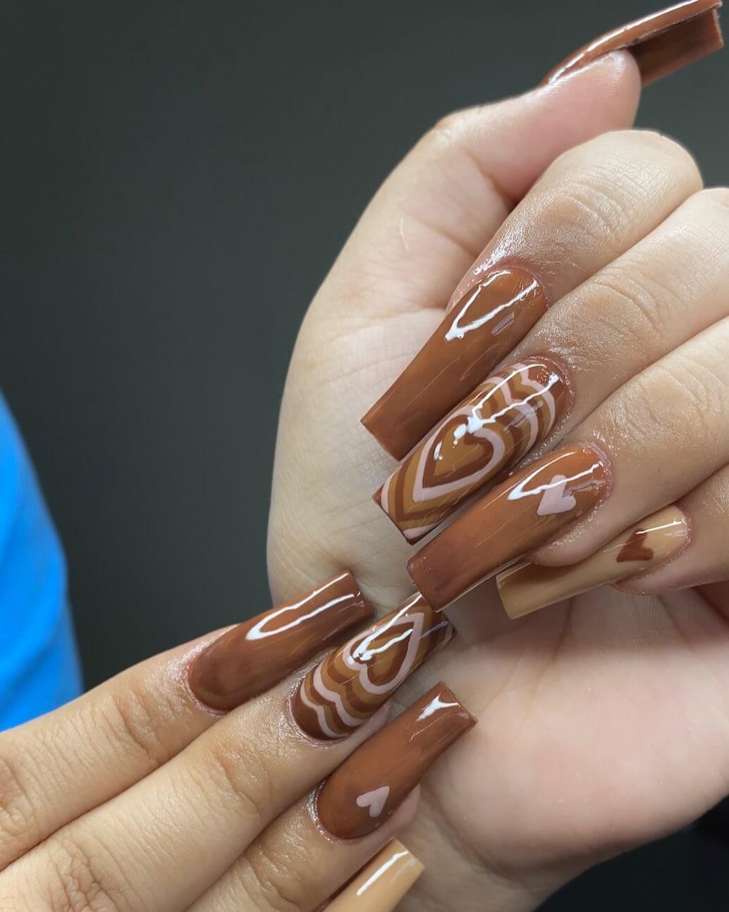 OMG! chocolate brown is so seducing